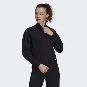 Куртка-бомбер Sportswear Future Icons Logo Graphic adidas. Цвет: черный