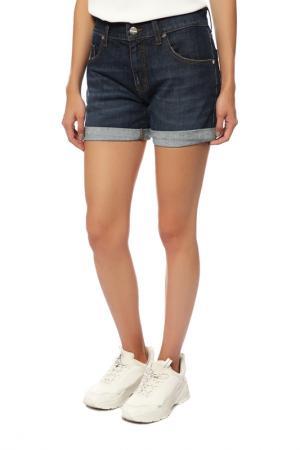 Шорты джинсовые Bikkembergs. Цвет: blue
