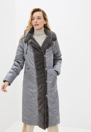 Куртка утепленная Dimma. Цвет: серый
