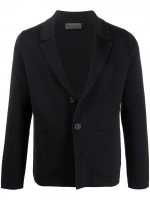 Трикотажный пиджак Iris Von Arnim. Цвет: синий