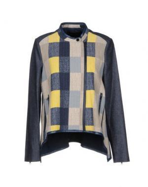 Куртка BCBGMAXAZRIA. Цвет: синий