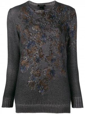 Printed sweater Avant Toi. Цвет: серый