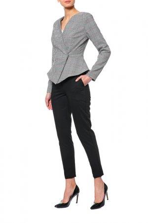 Костюм: жакет, брюки BEZKO. Цвет: серый