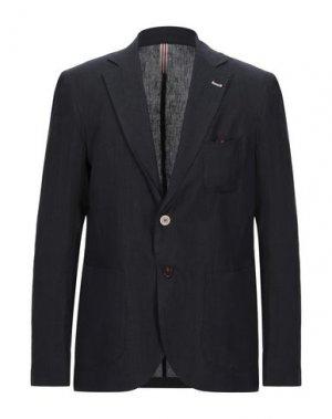 Пиджак OUTFIT. Цвет: темно-синий