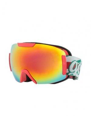 Солнечные очки GCDS. Цвет: красный