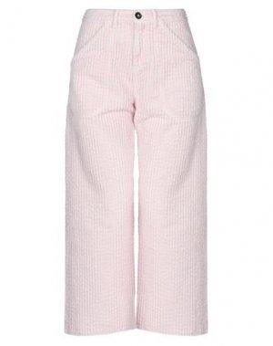 Брюки-капри MASSIMO ALBA. Цвет: розовый