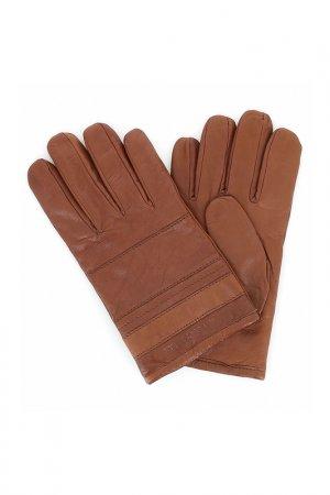 Перчатки Trussardi Jeans. Цвет: коричневый