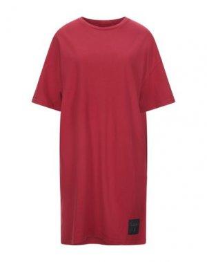 Короткое платье BAD SPIRIT. Цвет: красный