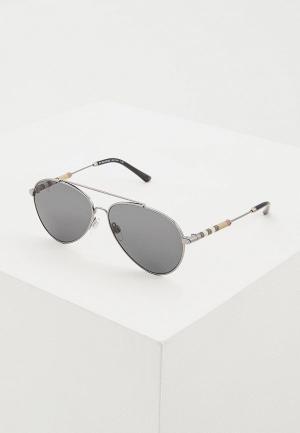 Очки солнцезащитные Burberry BE3092Q 100387. Цвет: черный