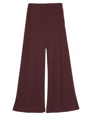 Повседневные брюки LIVIANA CONTI. Цвет: красно-коричневый