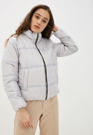 Куртка утепленная Vivaldi. Цвет: серый