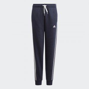 Брюки Essentials 3-Stripes adidas. Цвет: белый