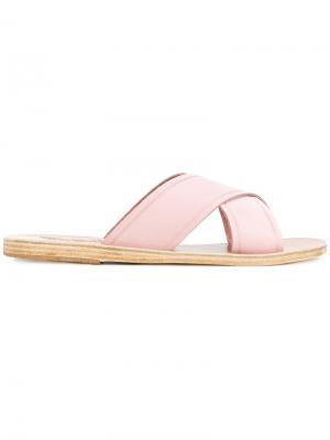 - Для нее Ancient Greek Sandals. Цвет: розовый