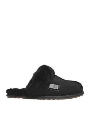Домашние туфли AUSTRALIA LUXE COLLECTIVE. Цвет: черный