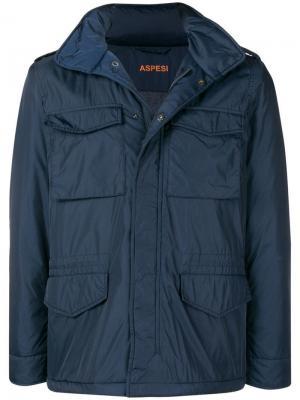 Куртка rmore Aspesi. Цвет: синий