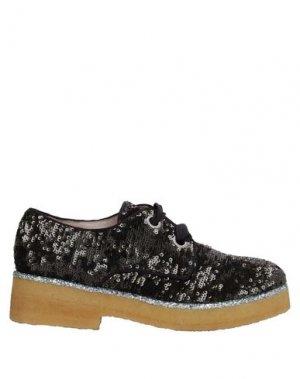 Обувь на шнурках ALBERTO GOZZI. Цвет: черный
