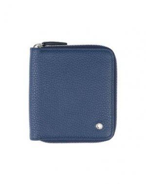Бумажник ORCIANI. Цвет: синий