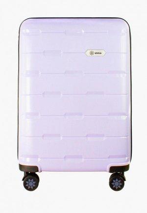 Чемодан Proffi travel Tour Fashion, M. Цвет: фиолетовый