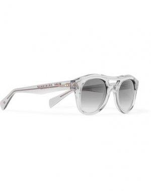 Солнечные очки KIRK ORIGINALS. Цвет: серый