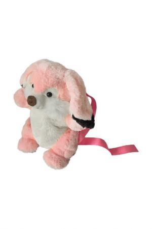 Рюкзак Зайка Fluffy Family. Цвет: белый, розовый