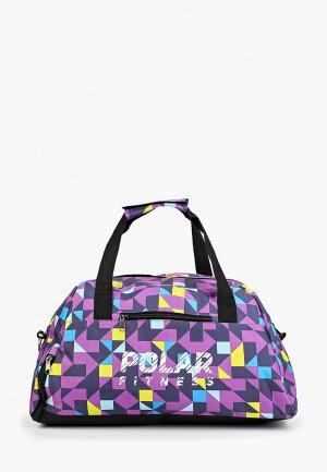 Сумка спортивная Polar. Цвет: фиолетовый