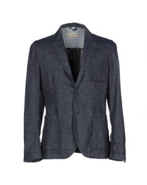 Пиджак CRUNA. Цвет: синий