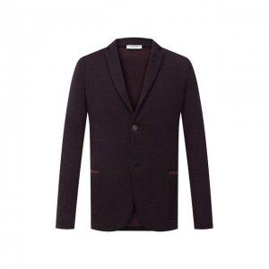 Шерстяной пиджак Gran Sasso. Цвет: красный