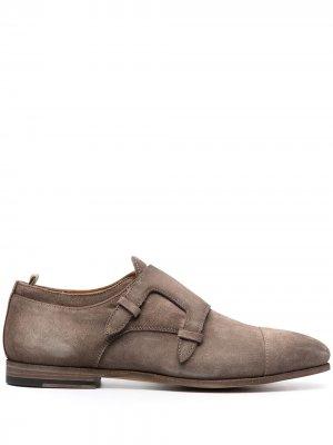 Туфли монки Revien Officine Creative. Цвет: серый