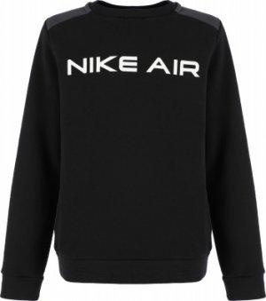Свитшот для мальчиков Air, размер 147-158 Nike. Цвет: черный