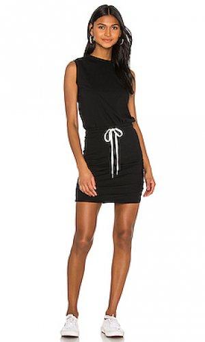 Платье gazer n:philanthropy. Цвет: черный