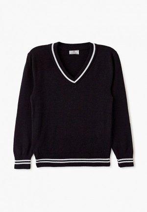 Пуловер Stenser. Цвет: черный