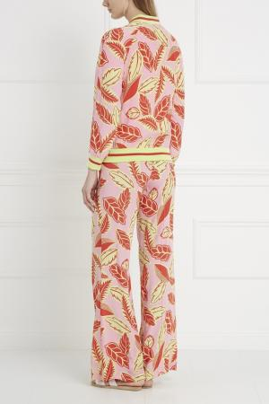 Бомбер с принтом Boutique Moschino. Цвет: multicolor