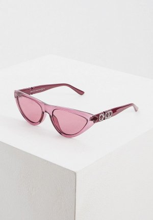 Очки солнцезащитные Jimmy Choo SPARKS/G/S 8CQ. Цвет: розовый