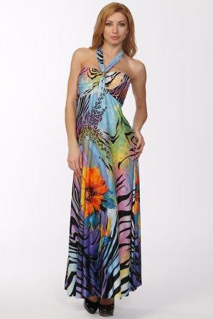 Платье МадаМ Т. Цвет: мультицвет