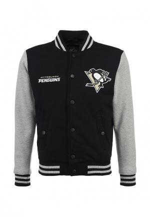 Куртка Atributika & Club™ NHL Pittsburgh Penguins. Цвет: черный