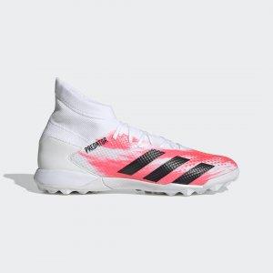 Футбольные бутсы Predator 20.3 TF Performance adidas. Цвет: черный