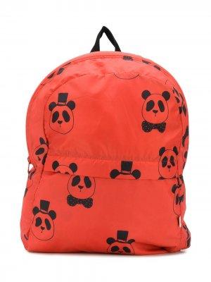 Рюкзак с принтом Mini Rodini. Цвет: оранжевый