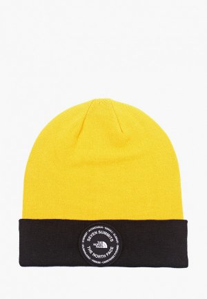 Шапка The North Face. Цвет: желтый