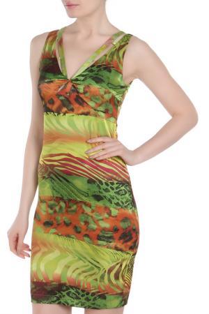 Платье МадаМ Т. Цвет: зеленый