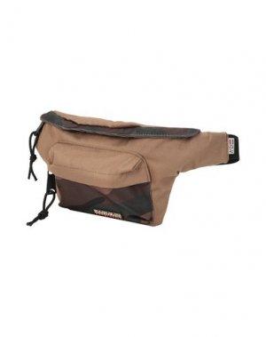 Рюкзаки и сумки на пояс NAPAPIJRI. Цвет: хаки
