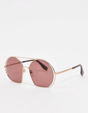 Солнцезащитные очки с планкой на переносице 325/S-Фиолетовый Marc Jacobs