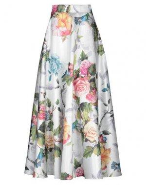 Длинная юбка CASTING. Цвет: белый