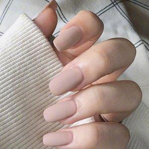 24шт матовый накладные ногти и двусторонняя лента SHEIN. Цвет: розовые