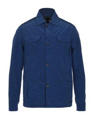 Куртка HETREGO'. Цвет: синий