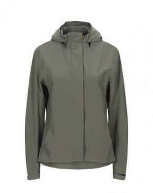 Куртка PEOPLE OF SHIBUYA. Цвет: зеленый-милитари