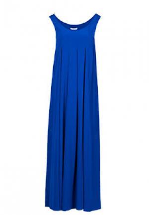 Платье COSTUME NATIONAL. Цвет: синий