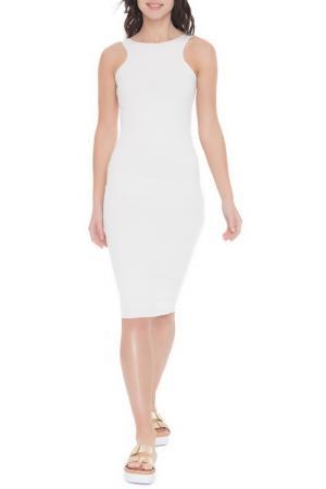 Платье-миди FREESPIRIT. Цвет: белый