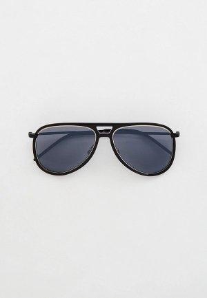 Очки солнцезащитные Saint Laurent CLASSIC 11 RIM. Цвет: черный