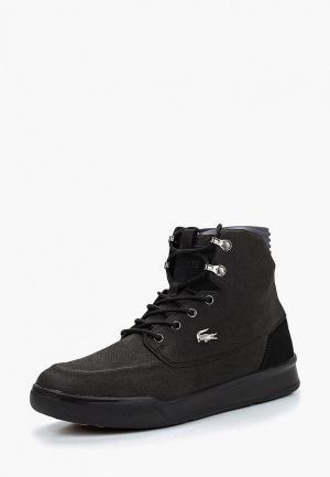Ботинки Lacoste EXPLORATEUR TECH HI3181. Цвет: черный