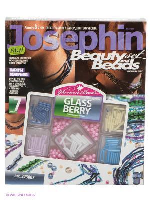 Набор для творчества Стеклянный дождь Josephine. Цвет: коричневый